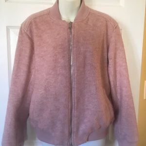 Old Navy Blush Pink Bomber Jacket Size Small